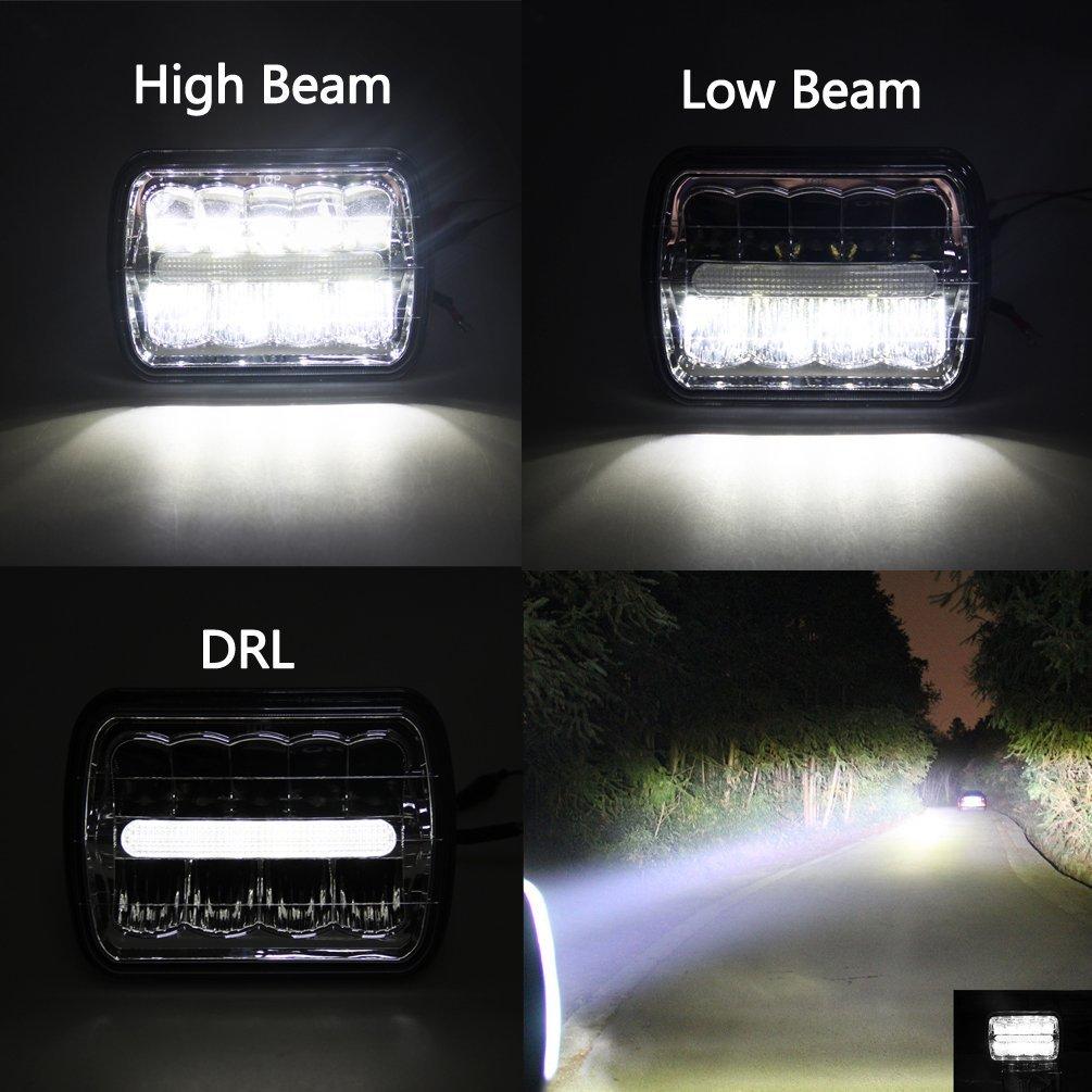 5x7 Lampu Led hi lo beam
