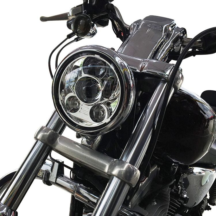 5 3/4 inch Motorcycle Headlight Application