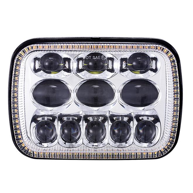 Lampu Depan Led 5x7 dengan DRL Turn Signal
