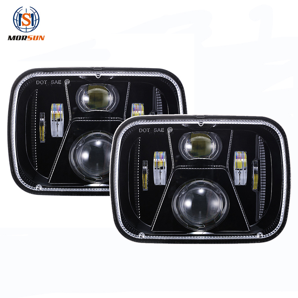5x7 square led headlight