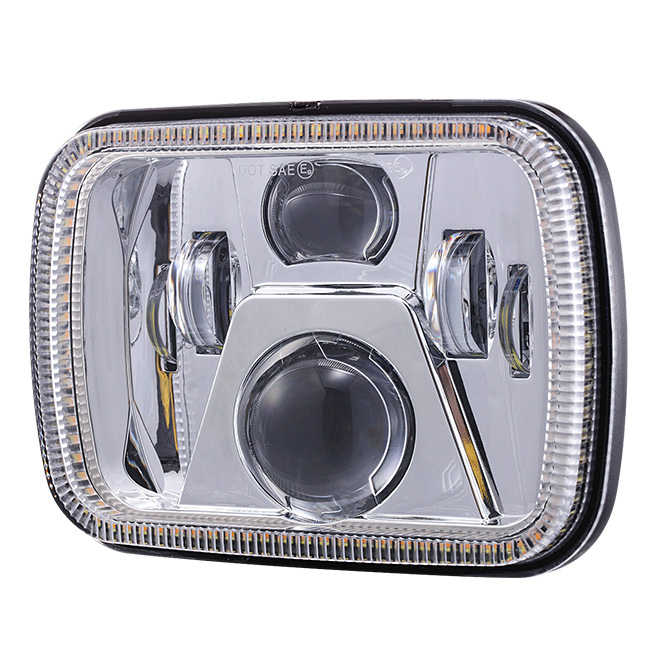 5x7 Led Headlights for Jeep Cherokee xj / GMC
