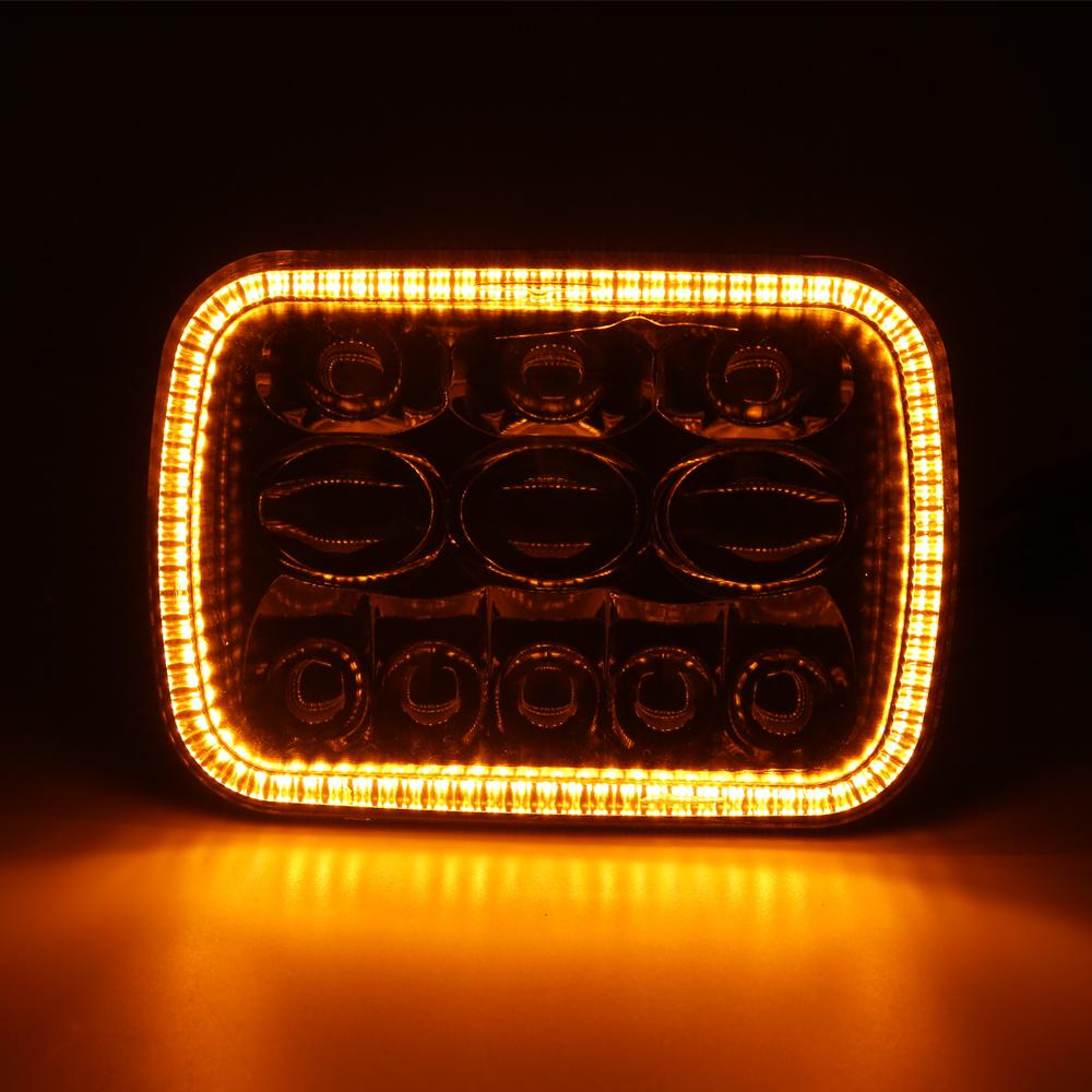5x7 Lampu Led dengan Lampu Sein