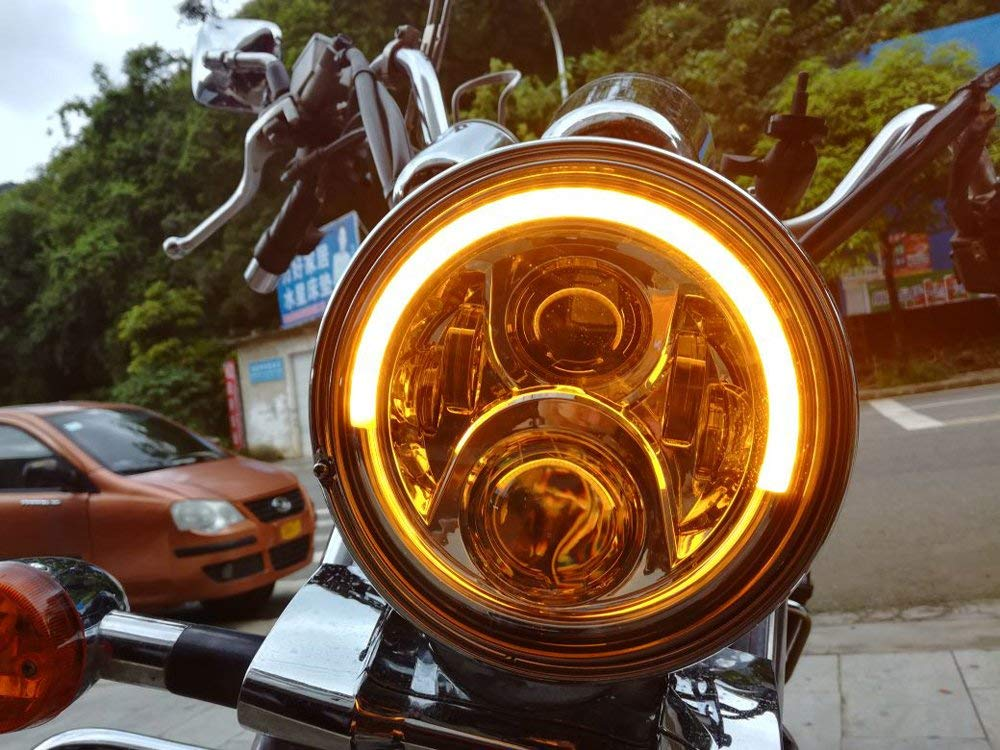 7 inch Harley Davidson Lampu Led