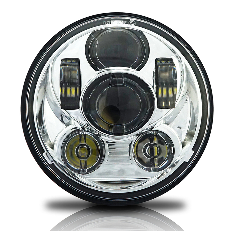 5 3/4 inch Motorcycle Headlight