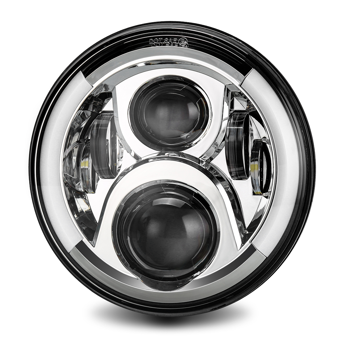 7 inch headlights for Jeep
