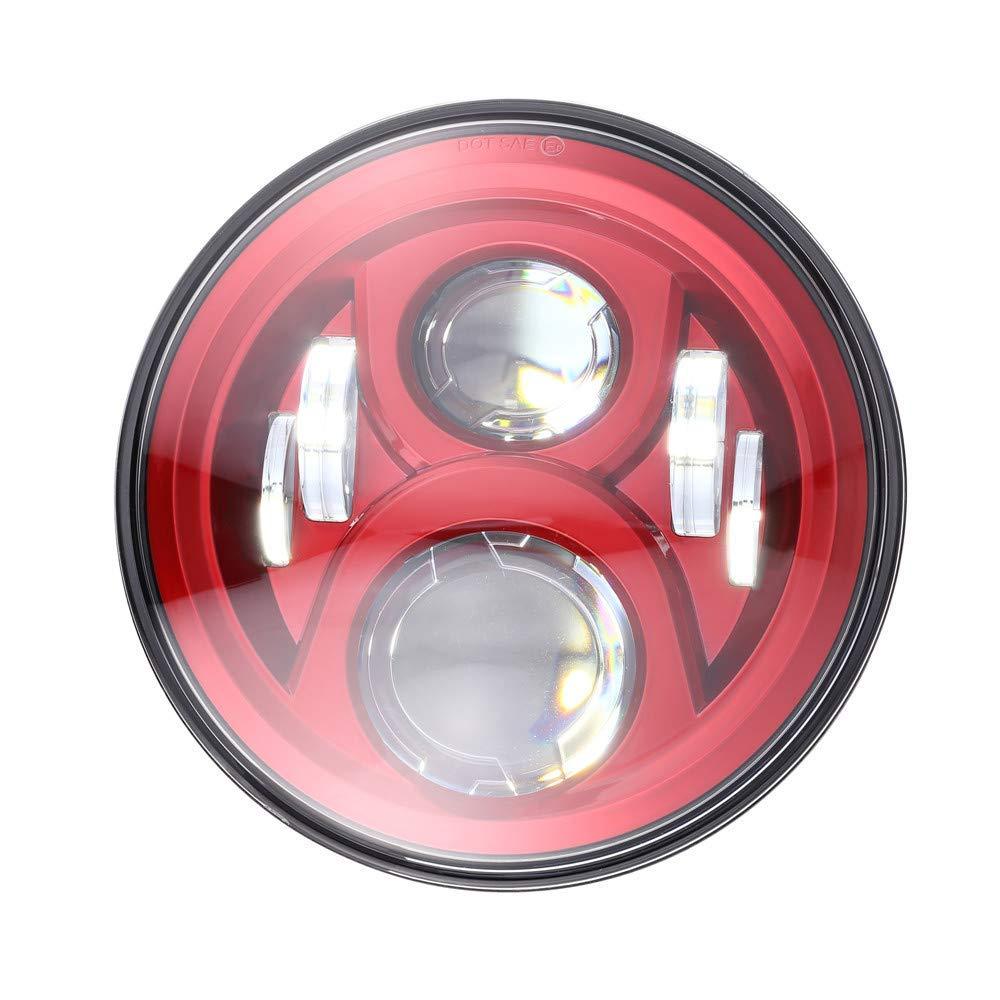 Lampu Led Sepeda Motor 7 inci