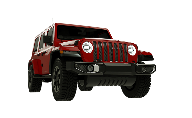 7 inch Halo Lights for Jeep JL