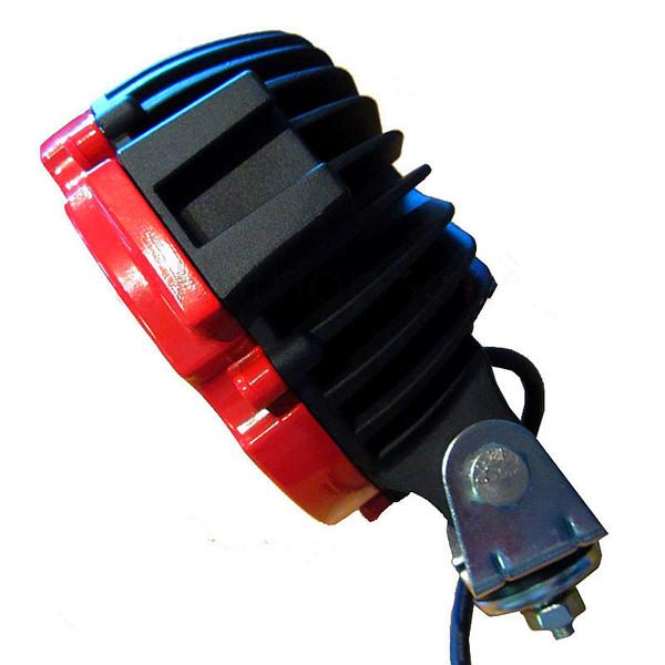 lampu offroad led bulat 6 inci merah