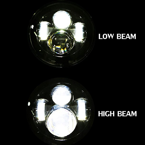 Harley Led Headlight High low Beam