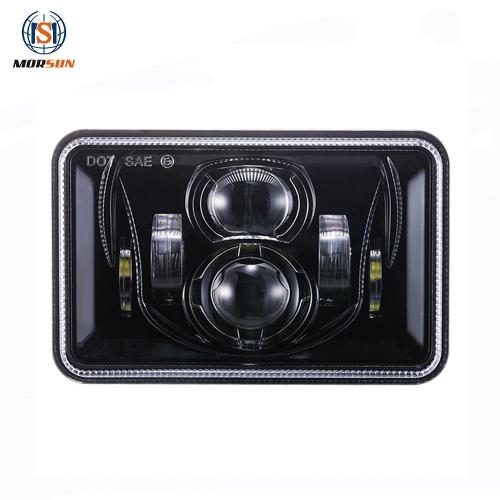 Phare LED Morsun 4x6 pour lumière de camion Peterbilt / Kenworth / Ford Probe 4x6 pouces