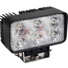 Projecteur de travail LED 18W spot à double rangée / flood