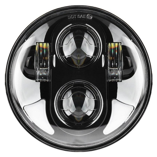 5.75 inch Led headlight halo Ring white DRL Angel eye For motocycle Sportster Touring