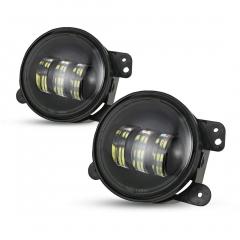 نظام إضاءة تلقائي 4 بوصة مصابيح ضباب Led لسيارة جيب JK 4 بوصة مصباح ضباب لدودج تويوتا لاند كروزر