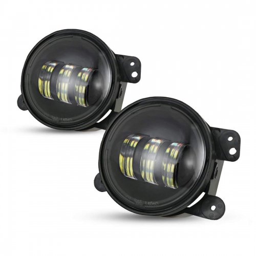 Auto lighting system 4 inch Led fog lights for Jeep JK 4'' fog lamp for Dodge Toyota Land Cruiser
