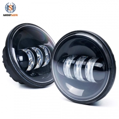 4.5'' 30W led fog lamp for harley davidson motorcycle