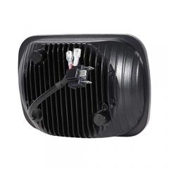 Phare LED de camion de haute qualité 5x7 pouces pour jeep Lampe frontale cherokee xj / GMC avec anneau halo rectangulaire