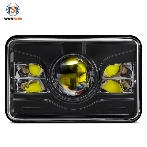 4x6 inch nalka hore ee Truck for kenworth t800 peterbilt led headlamp