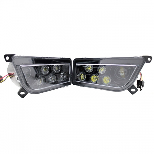 ATV / UTV led headlight untuk Polaris RZR XP 1000 auto led light untuk aksesoris Turbo palaris
