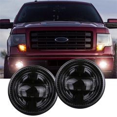 New 30W 4.5 Inch Direct Fit Round LED Fog Lights for Ford F150 2009-2014 LED Fog Lamp for Ford Ranger/Expedition