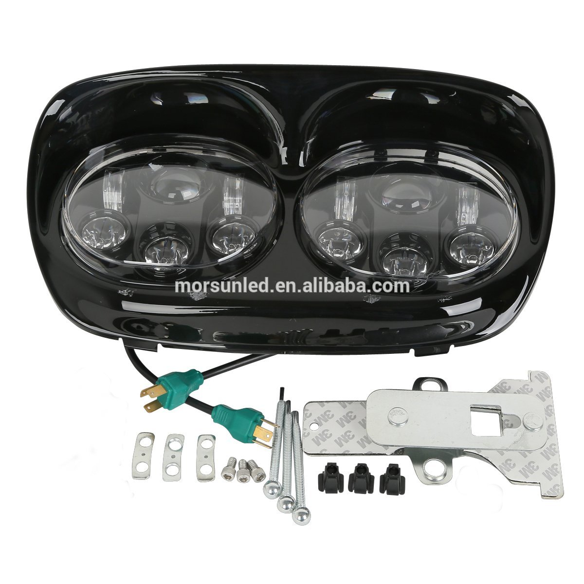 2019 auto light 5.75 inch double led headlight for motorcycle 5 3/4 led headlamp