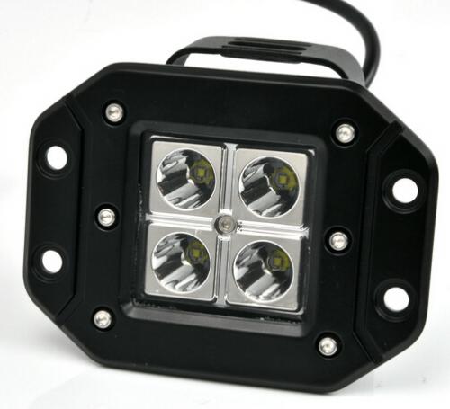 Led tersembunyi Light untuk Ford Bumper Led Fog lights Auxiliary Light