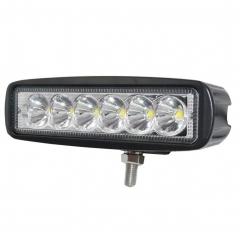 Lampu bar lampu led ramping 18W untuk trailer perahu motor