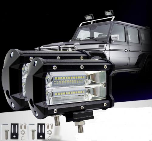 Offroad 3x72 үшін 4 қатарлы жарық диапазоны 4W жарықтандырғыш бар