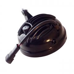 مصابيح ضباب LED مستديرة 48 واط لفورد F150 4.5 بوصة مصباح ضباب Morimoto 2009-2014 LED 4000LM 9005 للشاحنات