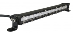 Bar lampu led yang ramping, baris tunggal, bar lampu led