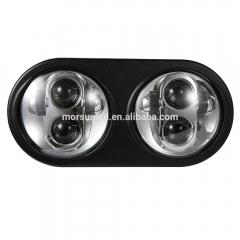 2019 5.75 `` LED double phare pour Road Glide 5 3/4 pouces H4 phare de projecteur LED pour Harley-davidsons