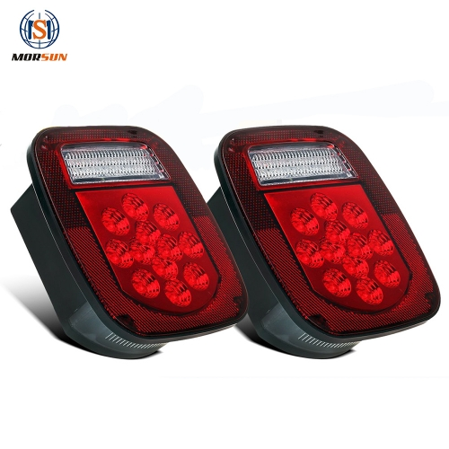 LED tail light Combination Driving/Brake/Turn/ReversingTail Light for Jeep YJ JK