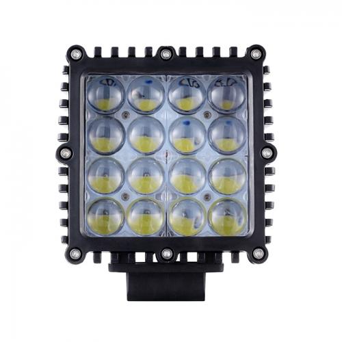 48W 16LEDs LED على الطرق الوعرة أضواء بقعة LED العمل