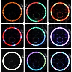 7 Inch RGB Headlight Phone APP Control 7
