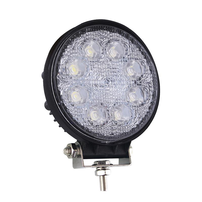 LAMPU MOBIL LED LAMPU KERJA 24W OFFROAD LIGHTING
