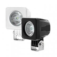 Mini lampe de travail à LED 10W 12V LED Drving Light pour jeep/ camion / bateau