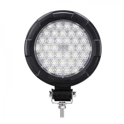 36LED 36W Lampu Kerja Bulat LED Lampu Bumper Offroad