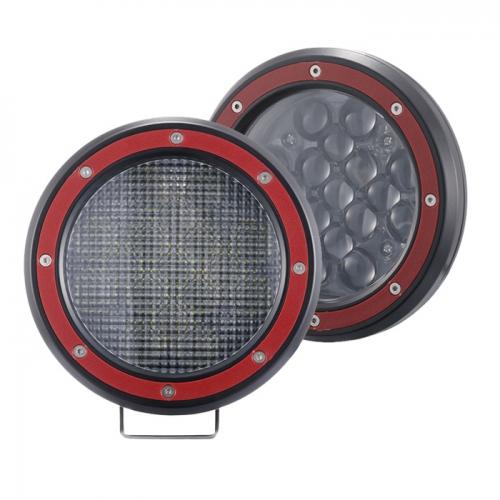 Lampu Mengemudi LED 51W Lampu Kerja LED Spot / Banjir Truk