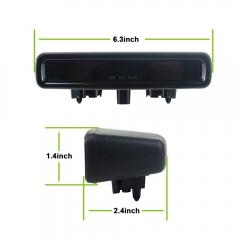 Lampu Rem LED ke-3 Kompatibel untuk Jeep Wrangler JL 2018 2019 Lampu Rem Ketiga High Mount Stop Light
