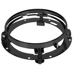 Bracket for 7 inch headlight round Trim ring For Harley motorcycle