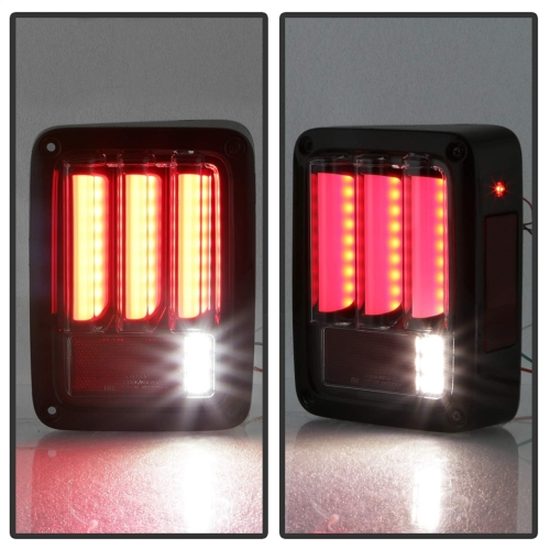 For Jeep JK Tail light 12v 24v car brake/reversing/driving/turn stop lamp led tail light