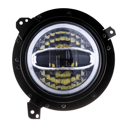 High power 108w 7 inch jeep wrangler halo projector headlights