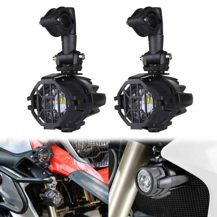 Can I Mount Additional Headlights on My Motorcycle?