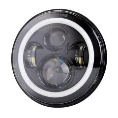 DOT 7 inch Putaran 2007-2016 Jeep Lampu depan JK untuk lampu halo Jeep Wrangler JK unlimited 4 pintu & JK 2 pintu