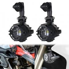 40W BMW Led Auxiliary Fog Lights untuk F800GS ADV / R1200GS / R1200GS ADV BMW Motorcycle Led Fog Lamp Universal lampu Kabut Sepeda Motor Perakitan