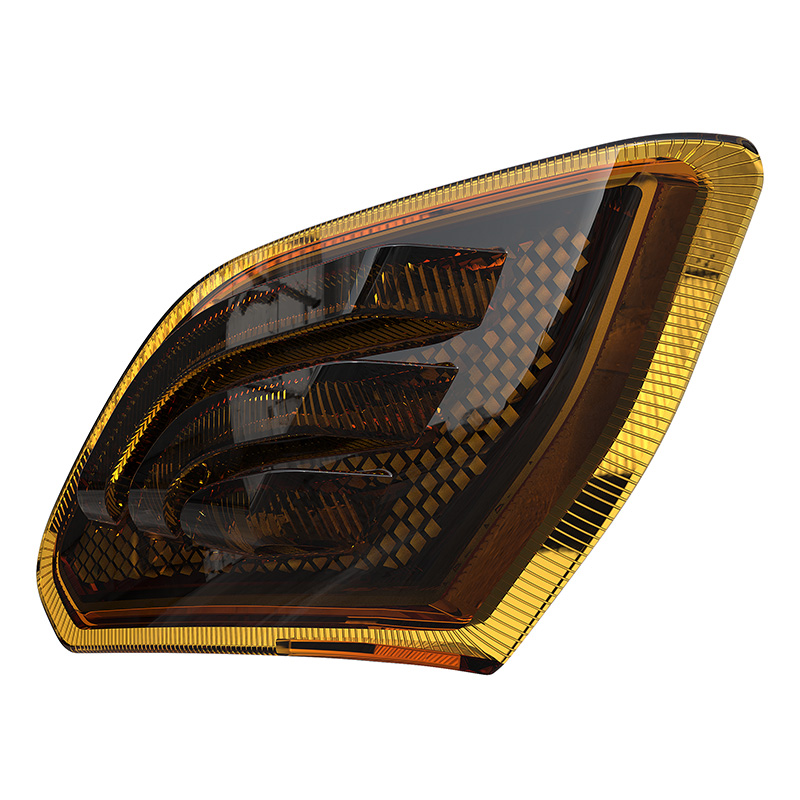 Jeep Wrangler JL fender flare light Amber