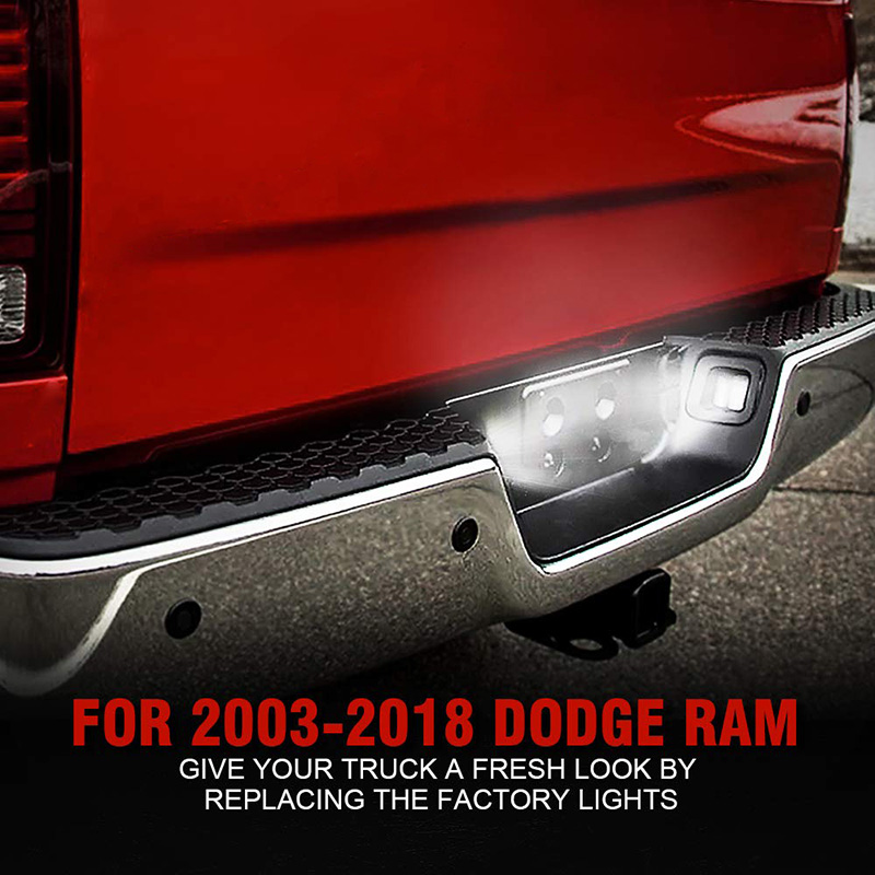 Dodge Ram LED Rear License Plate Light