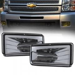 Lampu kabut led untuk Chevy Silverado 1500 2500 3500 HD aksesoris penerangan otomotif untuk 2007-2014 Chevy Silverado