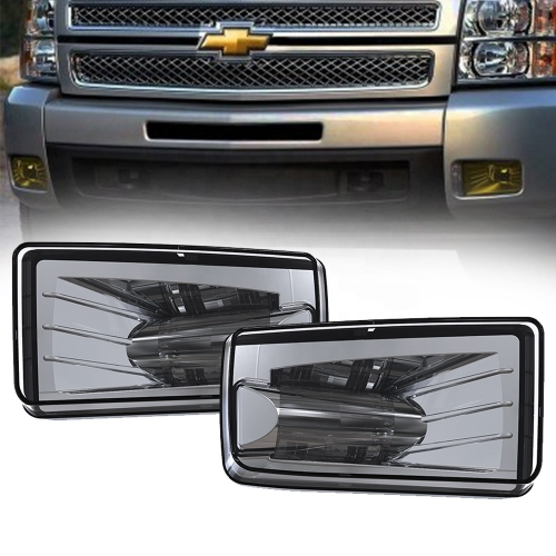 Led fog lights for Chevy Silverado 1500 2500 3500 HD automotive lighting accessories for 2007-2014 Chevy Silverado