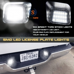 2003-2018 Dodge Ram Pickup 1500 2500 3500 SMD LED Rear License Plate Light Conversion Kits