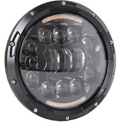 نصف هالو 7 '' LED ما بعد البيع المصابيح الأمامية ل Jeep Wrangler تي جي 1997-2006 مع شعاع منخفض عالي و drl